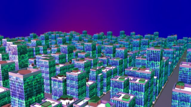 3d city - smart city stock videos & royalty-free footage