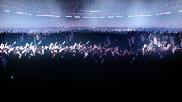 3d concert Area Big Crowds 1080p