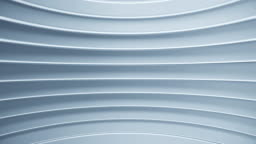 3d futuristic background with horizontal lines. Abstract technology texture for video presentation. Seamless loop.