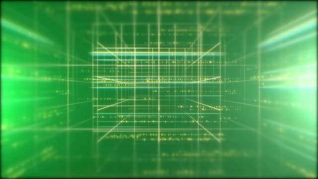 3d number grid loop - number 3 stock videos & royalty-free footage