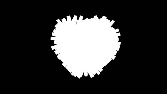 3d rendered  heart pulse backdrop loop - pulsating stock videos & royalty-free footage