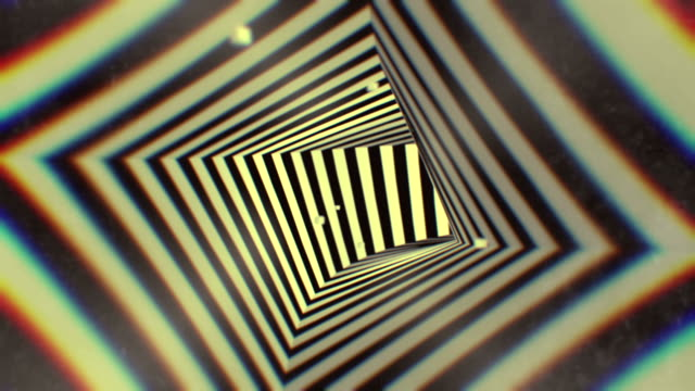 3d rendering animation hypnotic tunnel seamless looping  background - spiral stock videos and b-roll footage