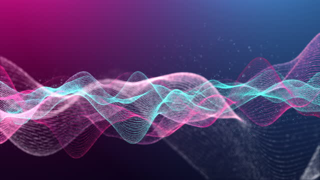 vídeos de stock, filmes e b-roll de 3d renderização design futurista de fundo abstrato de movimento - estrutura entrelaçada de metal