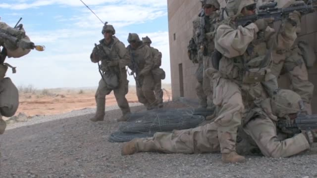 3rd armored brigade combat team 1st armored division conducted iron focus 181 in orogrande nuevo mexico - brigade stock videos & royalty-free footage