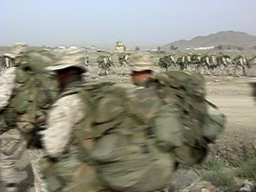 vidéos et rushes de 3rd battalion, sixth marine regiment at fob salerno, khowst province, afghanistan. - infanterie
