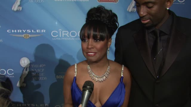 40th NAACP Image Awards Post Show Gala Los Angeles CA United States 2/12/09