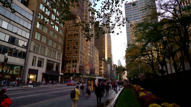 42nd street - bryant park stock videos and b-roll footage
