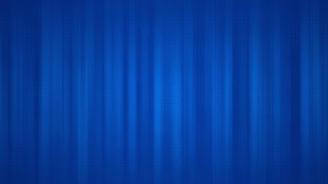 vídeos de stock, filmes e b-roll de vídeo stock de 4k abstract blue vertical fractal background loop - vinheta