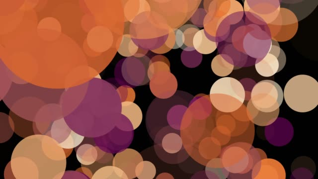 4k Abstract Bokeh Background for Animation loopable, Defocused elements concept