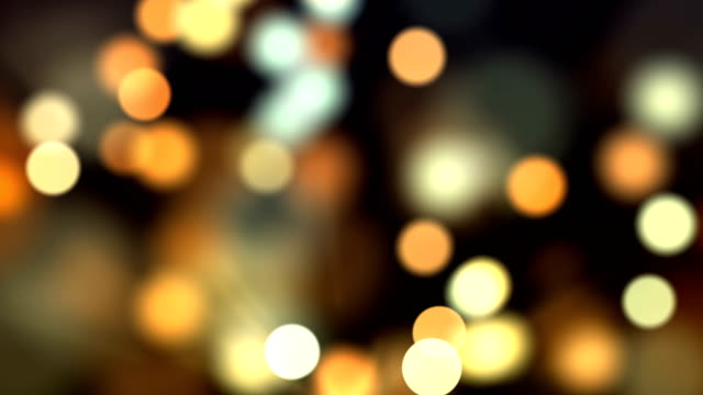 4k abstract bokeh background loop (multi colored) - christmas stock videos & royalty-free footage