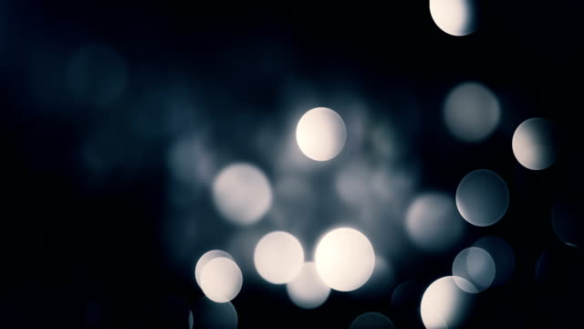 4k Abstract Bokeh Background Loop (Dark)