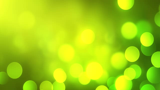 4k abstract bokeh background loop (green) - green background stock videos & royalty-free footage