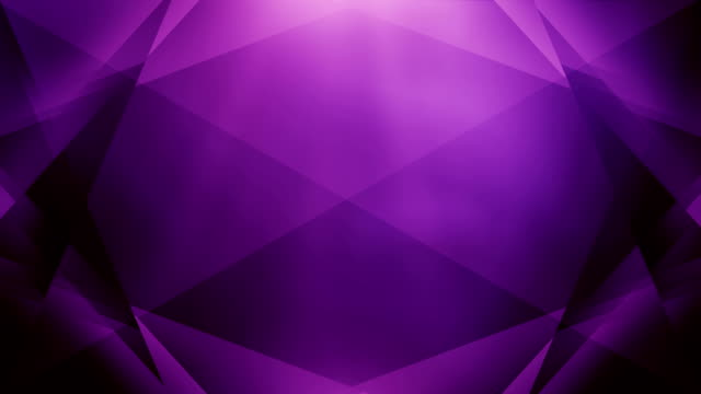 4k Abstract Geometry Background Loop (Purple)