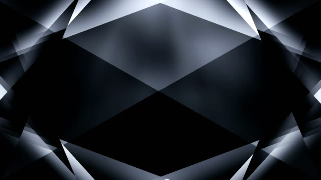 4k Abstract Geometry Background Loop (Black)