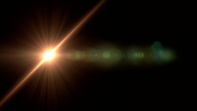 4k 抽象的な光の背景