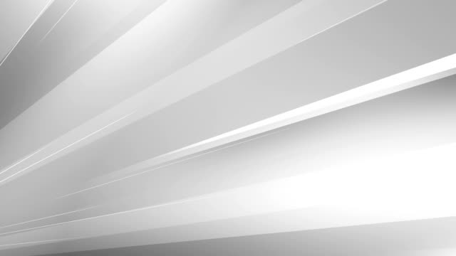 4k abstract minimalistic background (white / gray / silver) - loop - linea video stock e b–roll