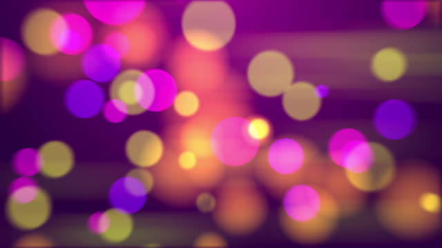 4k Abstract Mix Color Bokeh Background. Seamless Loop