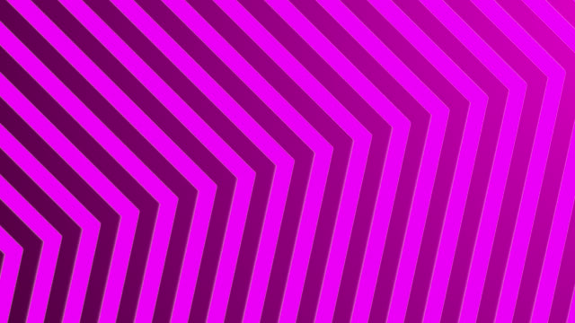vídeos de stock e filmes b-roll de 4k abstract neon pink light arrow direction on blackgroud - cor néon