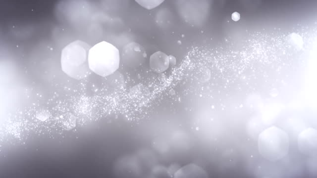 4k Abstract Particles (Silver/Gray) - Background Animation - Loopable