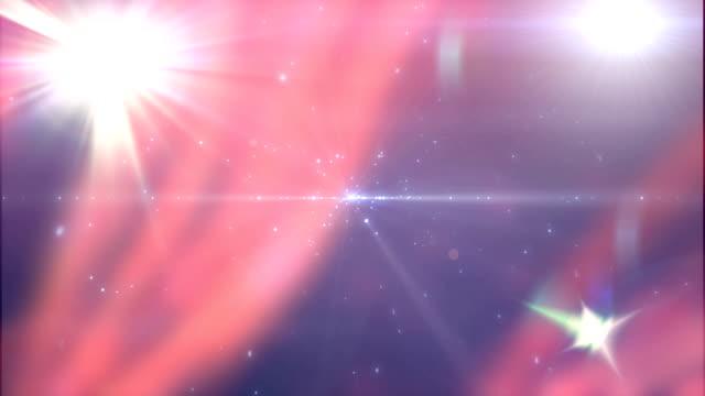4 k abstrakte Partikel Hintergrund Animation