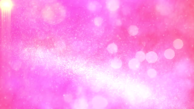 4k Abstract Particles Background Animation