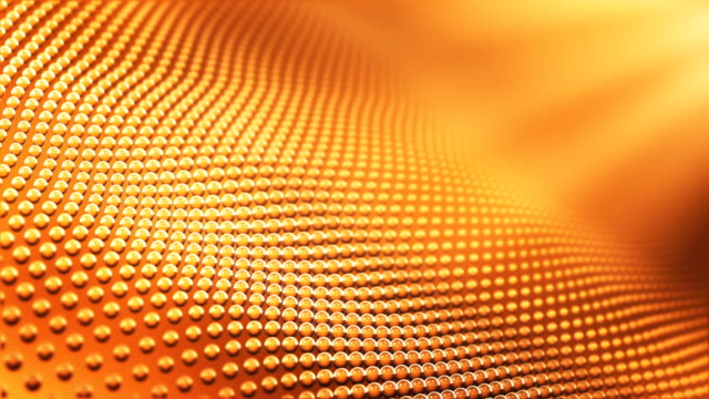4k Abstract Pattern Background Loop (Orange / Gold)