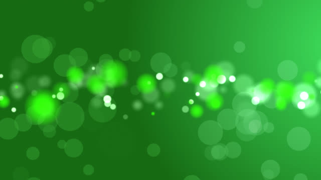 4k抽象ソフトボケグリーン色の背景 - カラーグラデーション点の映像素材/bロール