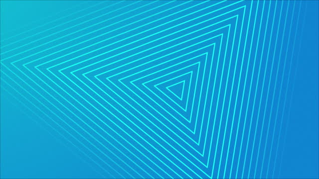 4k abstract wave triangle blue background - line stock videos & royalty-free footage
