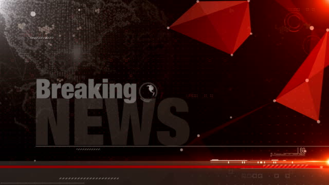 4k animation breaking news  video wall background - breaking news stock videos & royalty-free footage