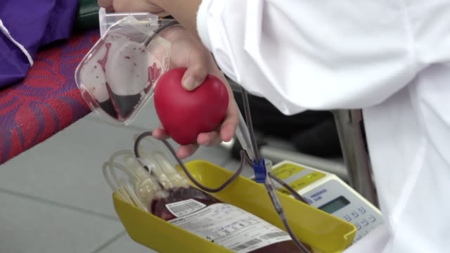 4k: blood donation - blood donation stock videos & royalty-free footage