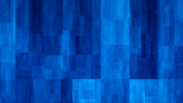 4k blue abstract blocks background (loopable) - stock video - blue background stock videos & royalty-free footage