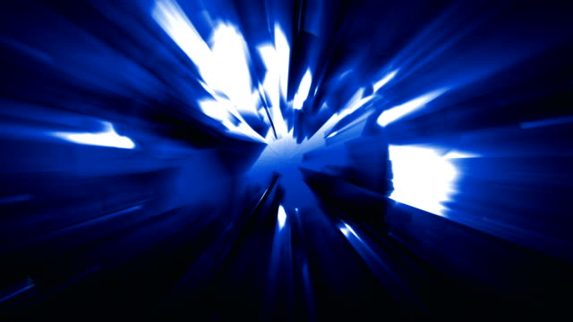 4k blue energy effect background with power source tech spreading geometrical shapes triangles and rectangles and light leaks from the energy source before the explosion loopable video, sci-fi, techno,music event,energy,transportation,celebration concepts - transportation event stock videos and b-roll footage