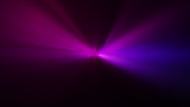 4k blue pink abstract laser spotlight background - neon stock videos & royalty-free footage