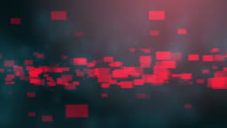 4k Blue Red Abstract tech background