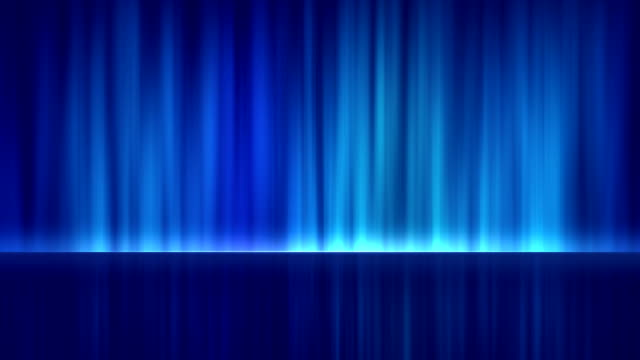 4k blue stage abstract background. seamless loop - stock video stock video - stage performance space stock videos & royalty-free footage