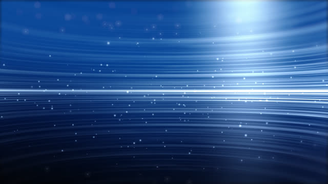 4k blue streaks light abstract animation background - biegung stock-videos und b-roll-filmmaterial
