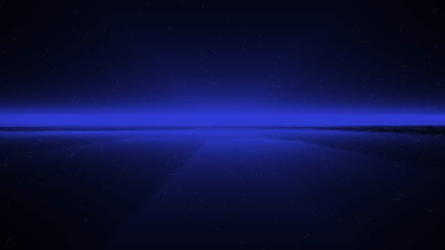 4k blue wave animation background seamless loop - light trail stock videos & royalty-free footage