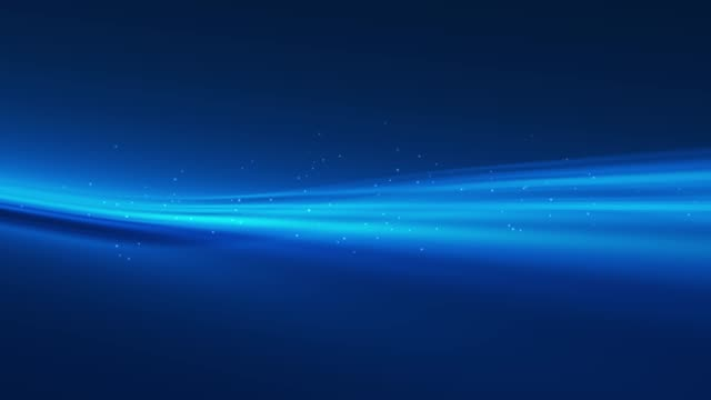 4k blue wave animation background seamless loop - blue stock videos & royalty-free footage