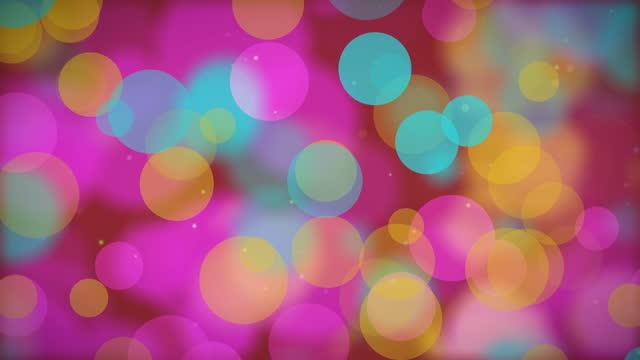 4k blurred defocused multi color lights background - motivation stock videos & royalty-free footage