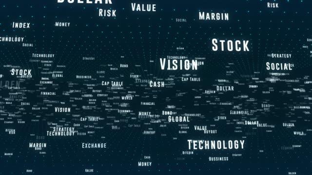 4k business technology hintergrund - text schriftsymbol stock-videos und b-roll-filmmaterial