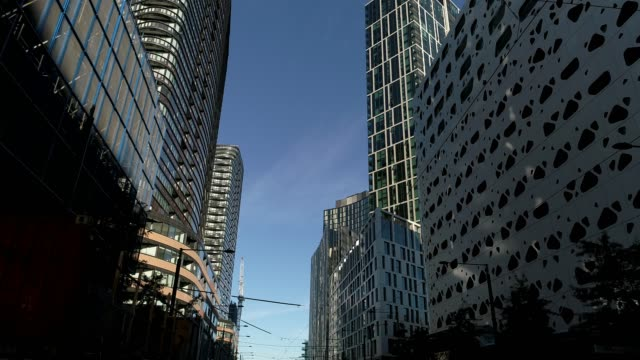 4k car pov, city of melbourne, australia - tram point of view stock videos and b-roll footage