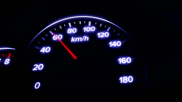 4k car dashboard animation - speed stock videos & royalty-free footage