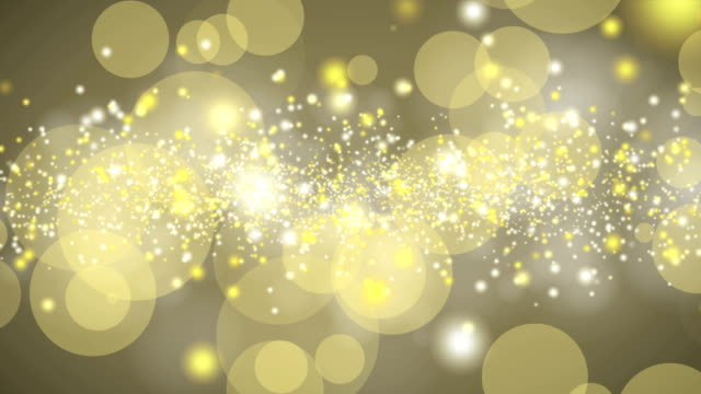 4k christmas gold background - ethereal stock videos and b-roll footage