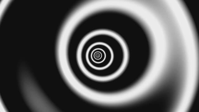 vídeos y material grabado en eventos de stock de túnel de círculo de 4k, fondo del túnel infinito, color verde - lento