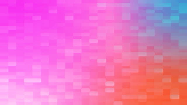 4k colorful grid mosaic background - yellow stock videos & royalty-free footage