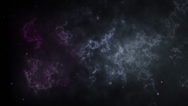 4k dci high-quality​ background video of stars are coming towards the viewer against a backdrop of clouds, gas, milky ways and nebulas in space - less than 10 seconds stock videos & royalty-free footage