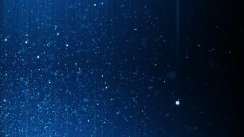 vídeos y material grabado en eventos de stock de fondo de partículas desenfocadas 4k (loopable) - motion