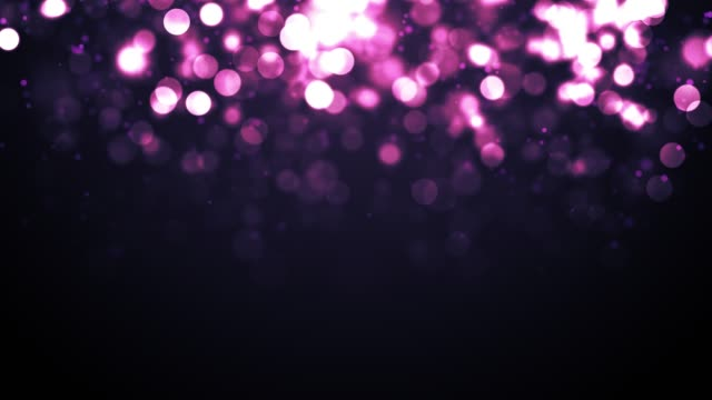 4k defocused particles background (loopable) - orange stock videos & royalty-free footage