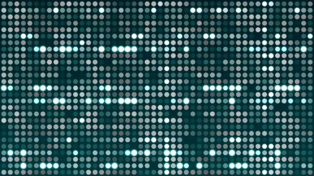 vidéos et rushes de 4k digital particles (loopable) stock vidéo - pixellisation