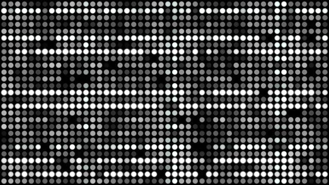 vídeos y material grabado en eventos de stock de 4k digital particles (loopable) vídeo en stock - pixelado